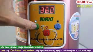 Video hướng dẫn cách làm tỏi đen thơm ngon đúng chuẩn bằng nồi làm tỏi đen tự động Nikio NK-696