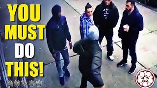 BEST WAY Overcoming FEAR  Getting HIT in Street Fights