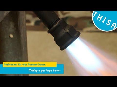 Gasbrenner für eine Gasesse bauen || THISA