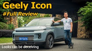 Electric Car Looks with Petrol Power: Geely Icon