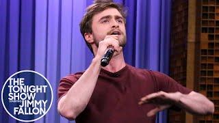 """Дэниел Рэдклифф, Daniel Radcliffe Raps Blackalicious' """"Alphabet Aerobics"""""""