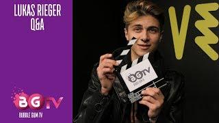 Lukas Rieger - Q&A | Bubble Gum TV