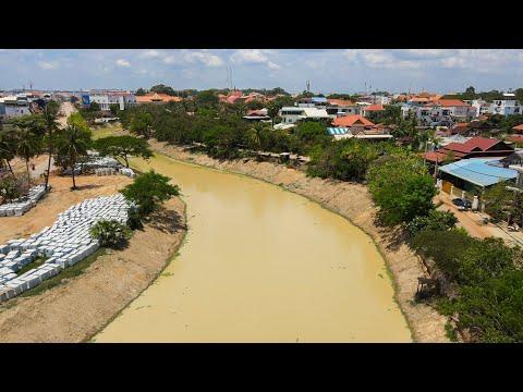 ដងស្ទឹងដែលស្តាររួចរាល់ / Rehabilitation of Siem Reap River - April 26 2021