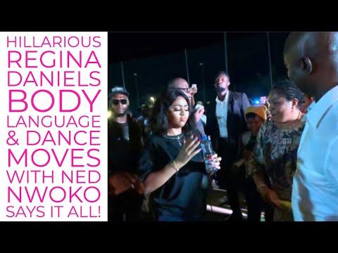 Regina Daniels Body Language & Awkward Dance Moves with Ned Nwoko Explained