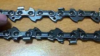 How To Identify Your Chainsaw Chain