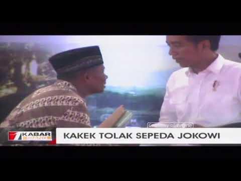 Kakek Tolak Sepeda Jokowi, Diganti Uang Untuk Biaya Skripsi Anaknya