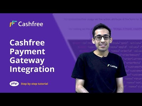 Cashfree Payment Gateway Integration in PHP   Tutorial - step by step