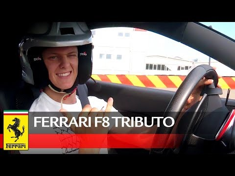 Image: WATCH: Mick Schumacher test drives FerrariF8 Tributo