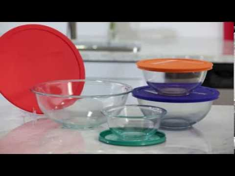 Pyrex® Smart Essentials® 8-pc Mixing Bowl Set - Pyrex