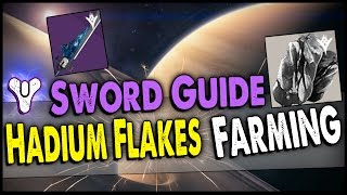 Destiny: The Taken King Best Hadium Flakes  Runes Farming Guide! Fastest Way to Get the Sword!