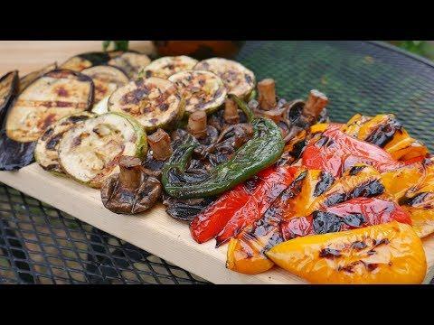МАРИНАД для ОВОЩЕЙ на ГРИЛЕ | Вкусные Овощи Гриль и ГРИБЫ на МАНГАЛЕ