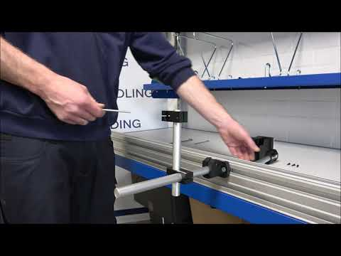 CM 100: Mounting the holder and printer