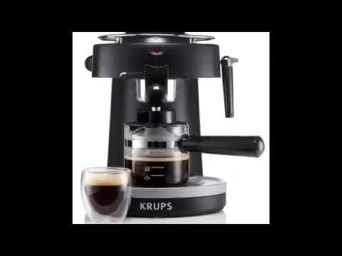 , KRUPS XP100050 Steam Espresso Machine with Frothing Nozzle for Cappuccino, Black review