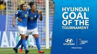 CRISTIANE – HYUNDAI GOAL OF THE TOURNAMENT – WINNER