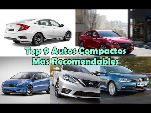 Top 9 Autos Compactos Mas Recomendables - México