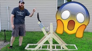 I Built A Catapult!