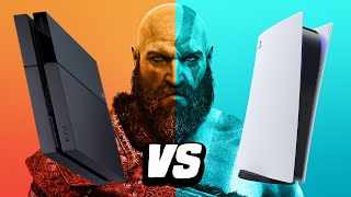 God of War - PS5 vs PS4 Pro