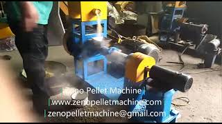 Floating fish feed pellet machine youtube video