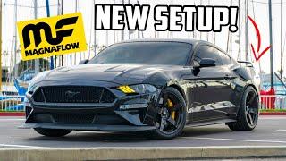 Mustang GT NEW Catback Exhaust Install! SOUNDS WAY BETTER!!!