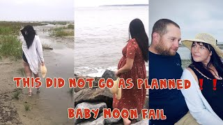 BABY MOON TRIP  | This did not go as planned | Traveling while pregnant