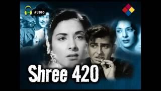 Mera Joota Hai Japani | Shree 420 1955 | Mukesh - YouTube