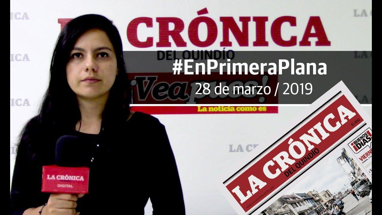 En Primera Plana: lo que será noticia este viernes 29 de marzo