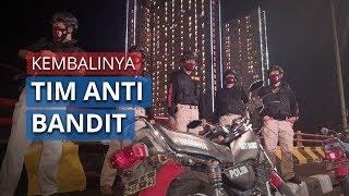 Gaya Baru Tim Anti Bandit Polrestabes Surabaya yang Kembali Beraksi, Patroli Naiki Motor RX King