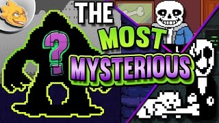 Who Is The Most Mysterious Character In UNDERTALE? Undertale Theory | UNDERLAB