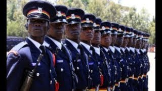 President Uhuru Kenyatta makes changes in the national police service
