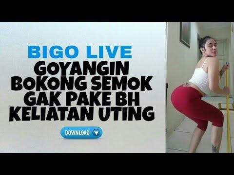 BIGO LIVE, Bahan Coli, Keliatan Uting Pantat Bahenol