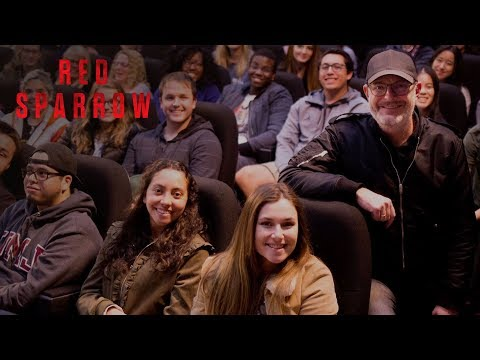 Red Sparrow | Opening Night College Q&A with Director Francis Lawrence | 20th Century FOX