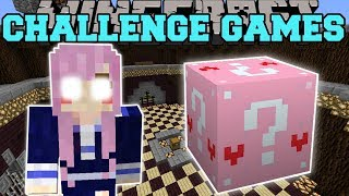 Minecraft: EVIL LDSHADOWLADY CHALLENGE GAMES - Lucky Block Mod - Modded Mini-Game