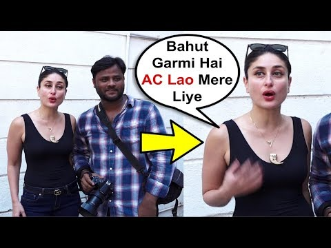 Kareena Kapoor Throws Tantrums When Fans Ask For Selfies With Her