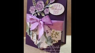 Double Curtain Card with Deb Valder