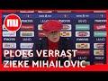 Zieke Mihajlovic verrast door eigen ploeg tijdens persconferentie | NU.nl