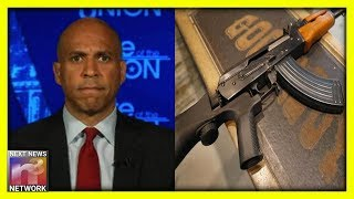 "Cory Booker Wants To Take Your Guns Away, But He's Calling It Something Other Than ""Confiscation"""