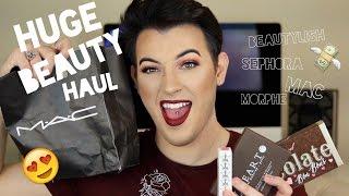HUGE HAULIDAY BEAUTY HAUL - Beautylish, MAC, Sephora, Morphe | MannyMua