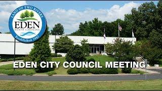 April 17, 2012 - Eden City Council Meeting