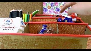 Aufbewahrungsboxen selber machen - DIY Aufbewahrungsbox für dein Zimmer