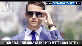 Adam Gallagher For Hugo Boss The BOSS Grand Prix Watch Collection In NYC | FashionTV | FTV
