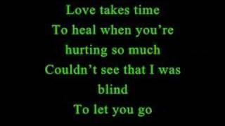 Love Takes Time   Mariah Carey [Lyrics]