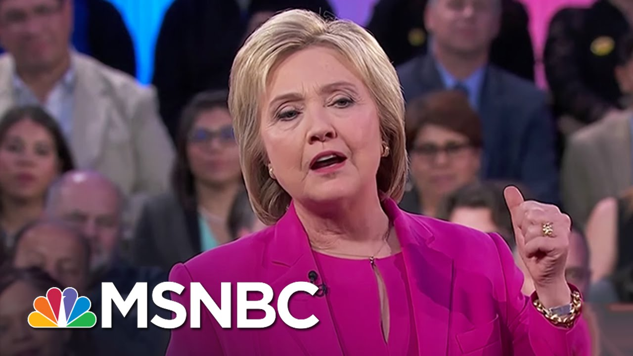 Hillary Clinton Claims To Support Unions | MSNBC thumbnail