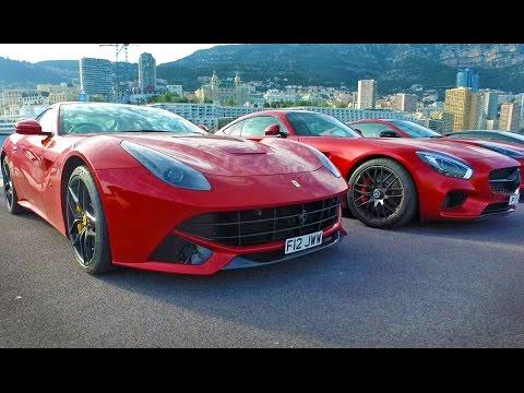 The Ferrari F12 Hits Monaco
