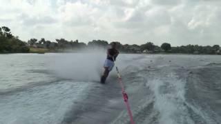 How to Slalom Water-ski