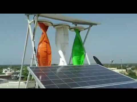 Solar and wind Hybrid Renewable Energy system
