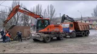 В Николаеве перекрыли проспект Центральный — образуются пробки