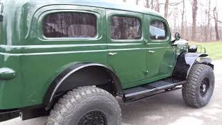 1941 Dodge Carryall Wc-53 4 Door Cummins By Precision Power Wagons