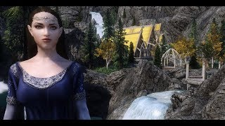【SKYRIM Lord Of The Rings 600+ MODS】Ara-Celebrian Gameplay Playthrough Part 1 [PC - HD]
