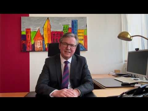 Videobotschaft von Bürgermeister Michael Dreier an die Paderborner*innen zur aktuellen Corona-Lage