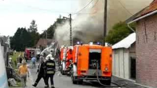Incendie Hacquegnies
